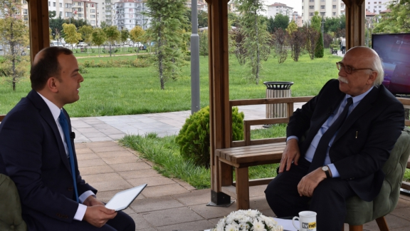 Minister Avcı is a guest on live TVNET program