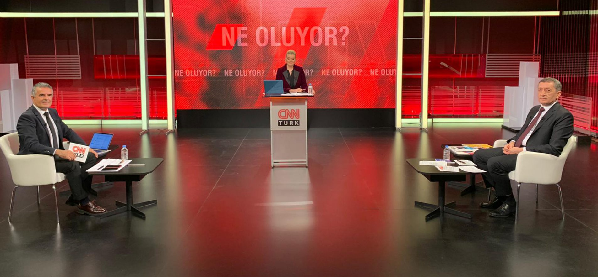 MINISTER SELÇUK ANSWERED QUESTIONS DURING LIVE TV PROGRAM